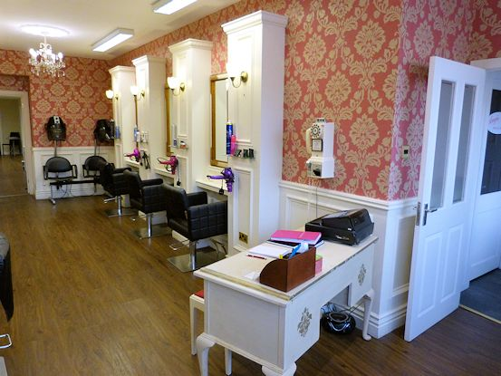 Hairdresser's reception